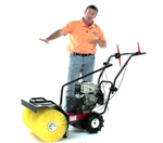 How to Use Sweepster WSP24 Walk Behind Power Broom