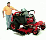 2010 BadBoy 28HP Caterpillar Diesel Zero Turn Mower
