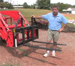 How to Use Compct Tractor Pallet Forks