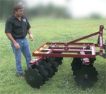 How To Use a disc harrow - model 240