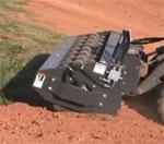 Bradco Vibratory Roller For Skid Steer