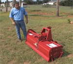 How to use a Sicma Phoenix rotary tiller