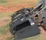 How to use a skid steer FFC BTR grapple