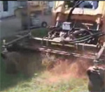 How to use a skid steer harley rake