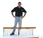 How to assemble Everything Attachments pine needle rake